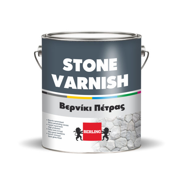 Лак для камня STONE VARNISH