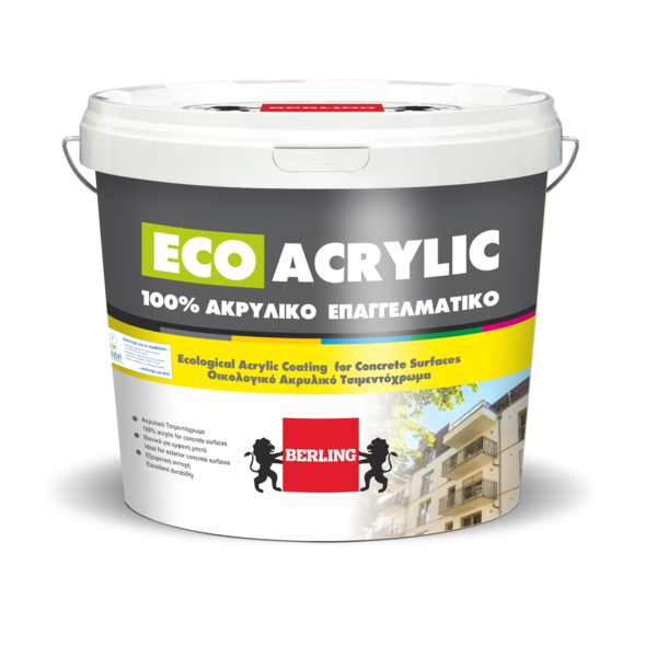 Краска фасадная 100% PROFESSIONAL ECO ACRYLIC PAINT в цвете P102L